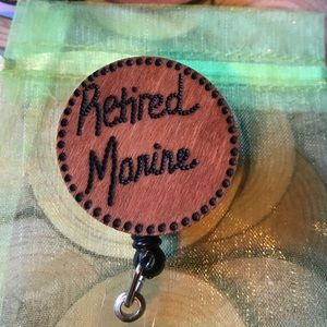 Retired Marine 🇺🇸 Badge reel